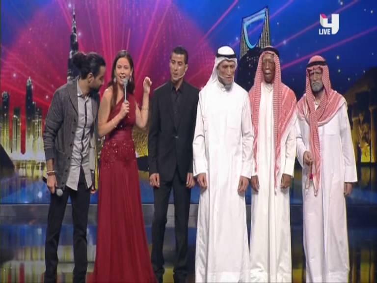 ����� ��������� ��� ��� ������� �� ������ Arabs Got Talent ���� ������ �������� ����� ���� 26-10-2013
