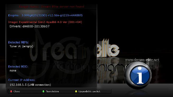 Sim2 dreamelite dm800 2013-10-27 oe2 84D riyad66