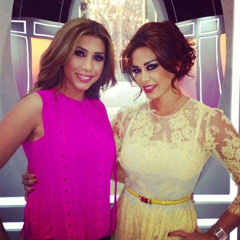 صور جوانا كريم في برنامج نورت مع اروي 2013