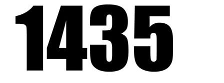 ����� ����� ����� ����� ������� �� �������� 1435