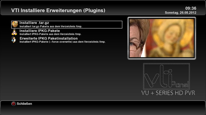 New VTi - v. 4.2.0 ULTIMO Vu+ Team Image