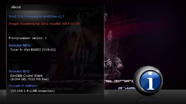 Sim2 D.M.S Img Light dm800se v2.7 riyad66-84D