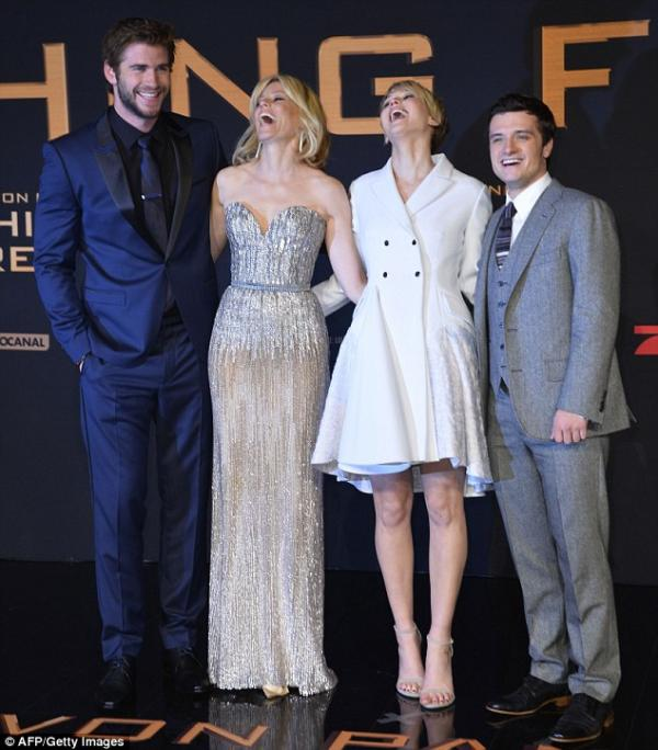 ��� �������� ����� ������� ������ �� ��� ���� The Hunger Games: Catching Fire �� �������