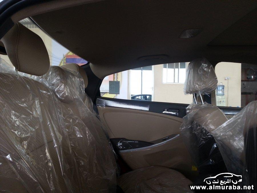 صور سيارة هيونداي اكسنت 2014 - مواصفات سيارة هيونداي اكسنت 2014