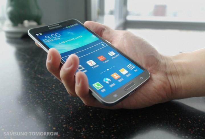 ����� �� ������ ������� ������ ����� Samsung Galaxy Round