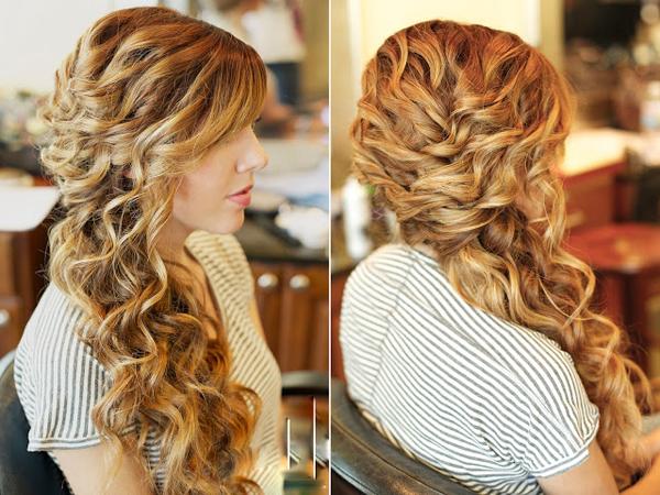 تساريح شعر جميله و بسيطة 2014 , اجمل تسريحات للشعر 2014