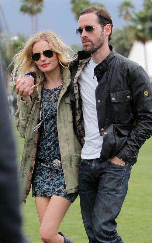 Kate Bosworth & Michael Polish's Coachella Lovin