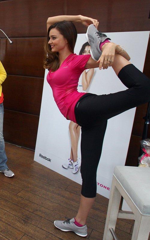 Miranda Kerr: Reebok Babe in Munich