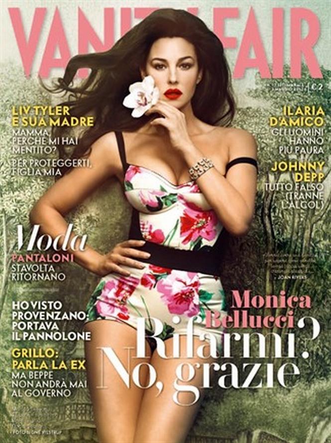 Monica Bellucci Vanity Fair Italy (May 2012