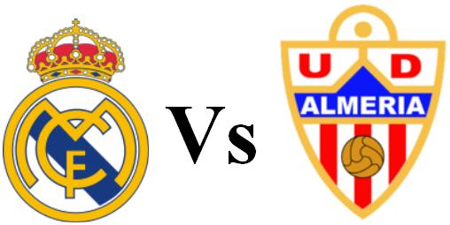 Watch online Real Madrid vs Almeria today 23-11-2013