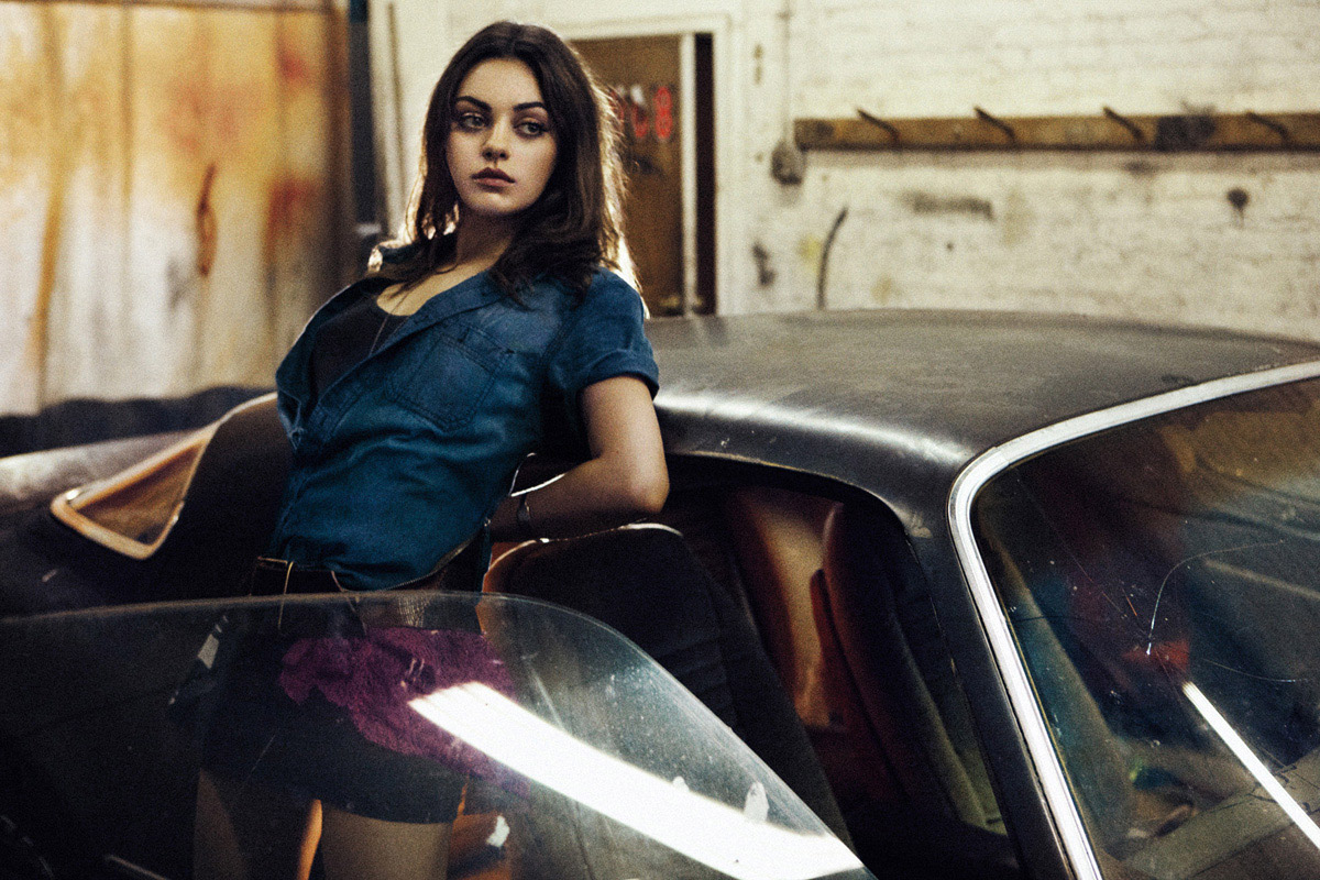 Mila Kunis for Interview August 2012