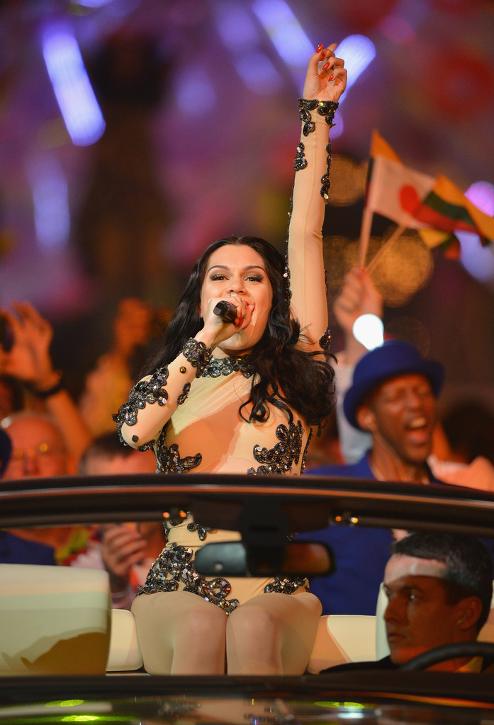 Olympic Games - Jessie J performs