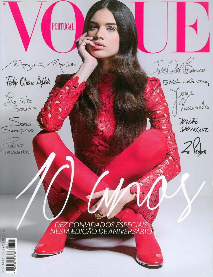 Sara Sampaio for Vogue Portugal November 2012