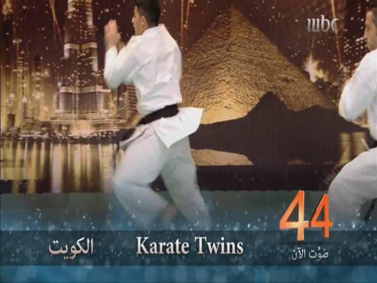 ���� �������� ���� ���� ������� ����� Karate Twins ��� ��� ����� ����� ����� 23-11-2013
