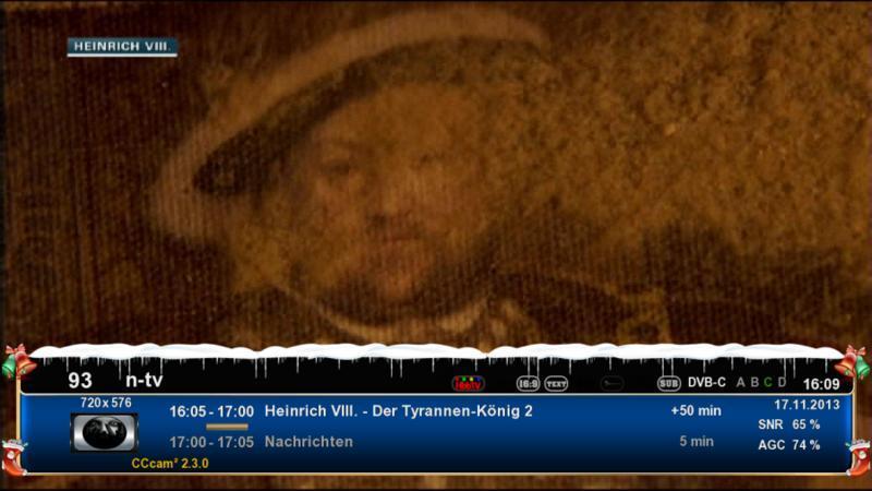 ����� ���� Gold Blue Christmas HD