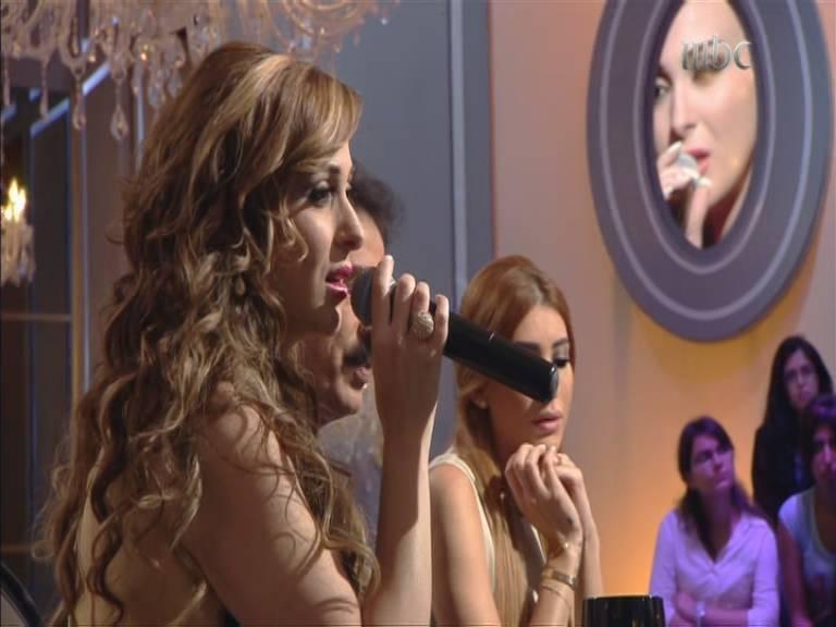 صور فرح يوسف في برنامج نورت مع اروي 2013