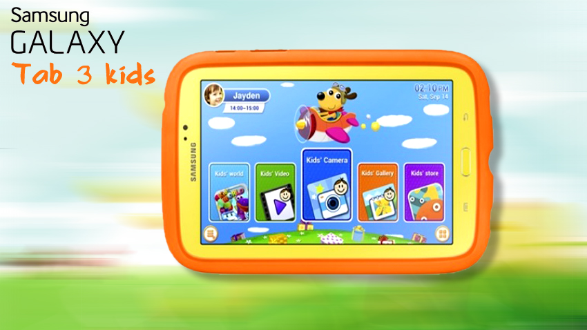 ��� �������� ������ ��� 3 ������� Galaxy tab3 kids