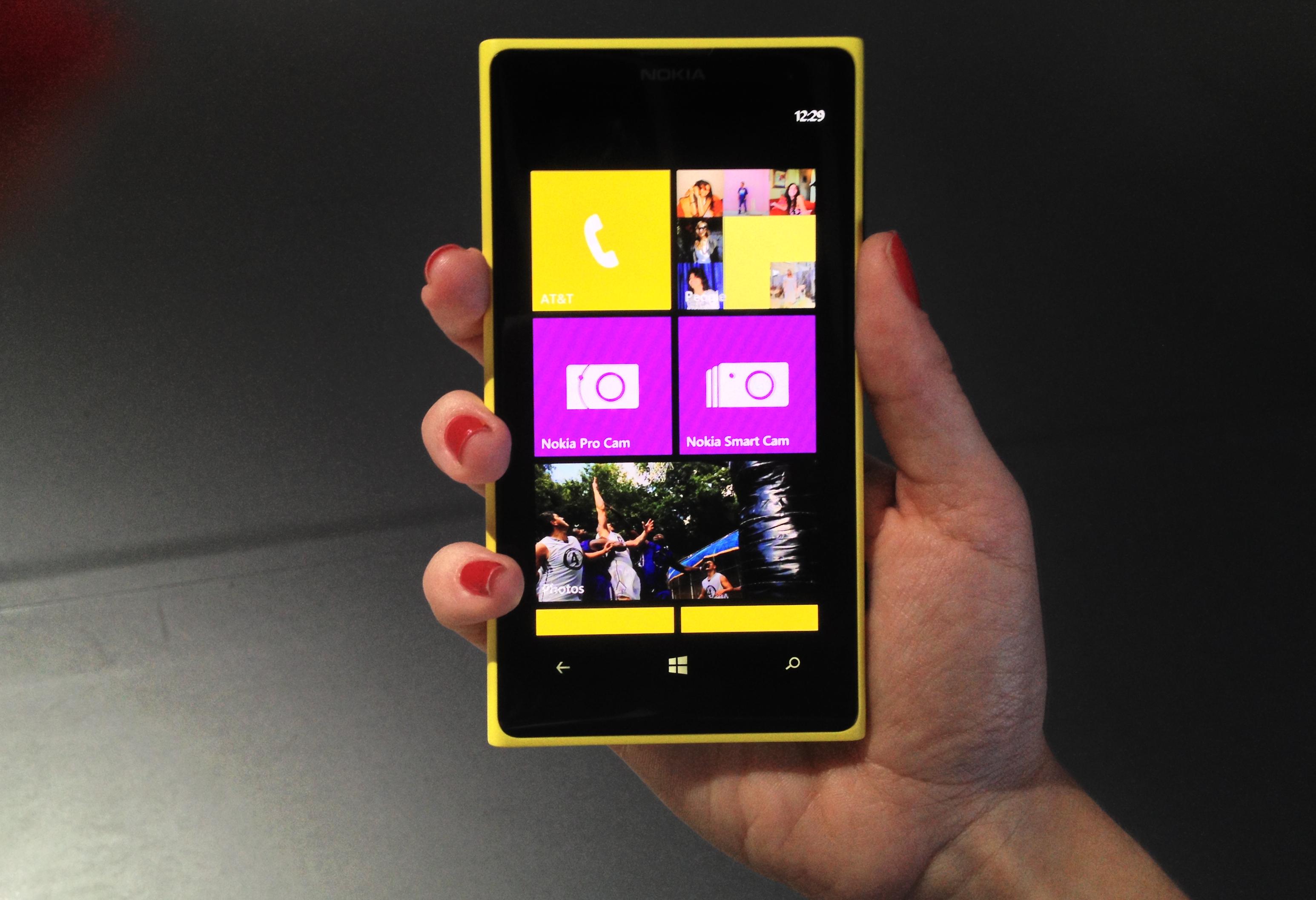 ��� �������� ����� ����� 1020 Nokia Lumia �� �����