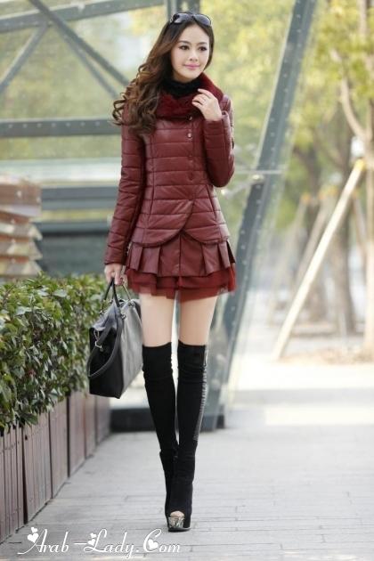ad39048df2d95 صور أزياء كورية لفصل الشتاء 2014