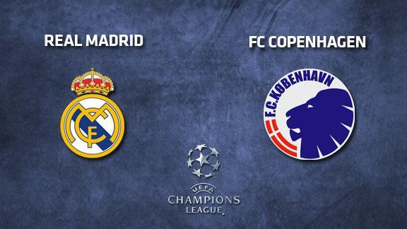أهداف مباراة ريال مدريد و كوبنهاجن اليوم 10/12/2013 كاملة