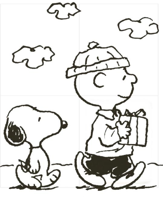 Snoopy and Charlie Brown Christmas Photos 2014