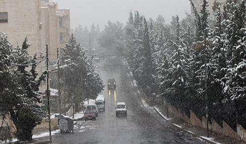 تفاصيل حالة الطقس في جميع محافظات الاردن اليوم الخميس 12/12/2013