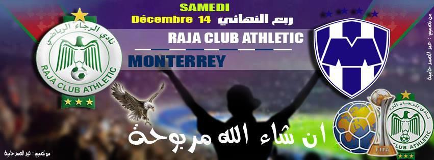 Monterrey Vs Raja Casablanca today 14/12/2013
