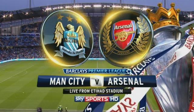 Arsenal Vs Manchester City premier league today 14/12/2013