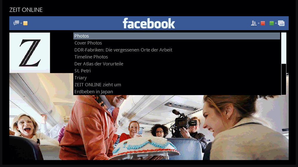 ����� ���� Facebook Reader