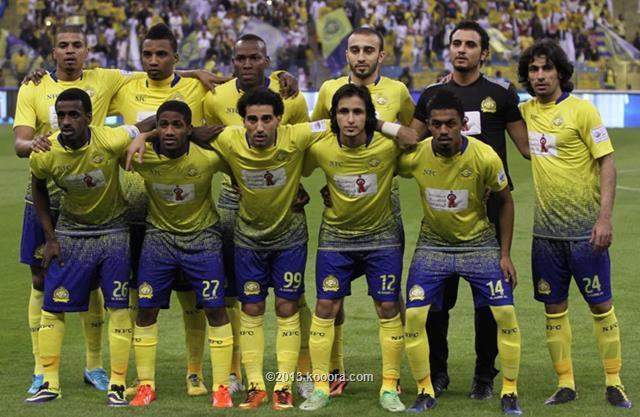 نتيجة مباراة النصر و نجران اليوم الخميس 19-12-2013
