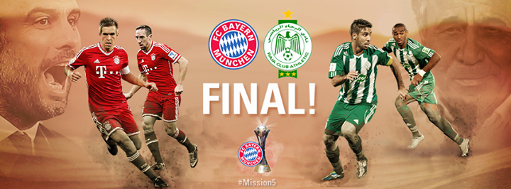 Raja Casablanca Vs Bayern Munich saturday 21/12/2013 - Club World Cup 2013