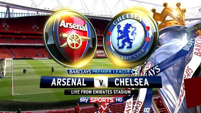 Chelsea Vs Arsenal premier league 23-12-2013 channels broadcast match live