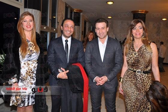 فستان رانيا فريد شوقى توزيع