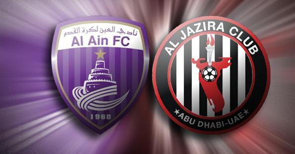 بالتفصيل توقيت وموعد مباراة الجزيرة والعين اليوم الجمعة 27/12/2013 AlJazira vs AlAin