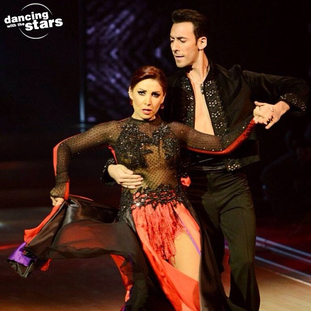 ��� ���� ��� �� ������ ��� ������ 2014 Dancing With The Stars , ��� ���� ��� 2014 Aline Khalaf