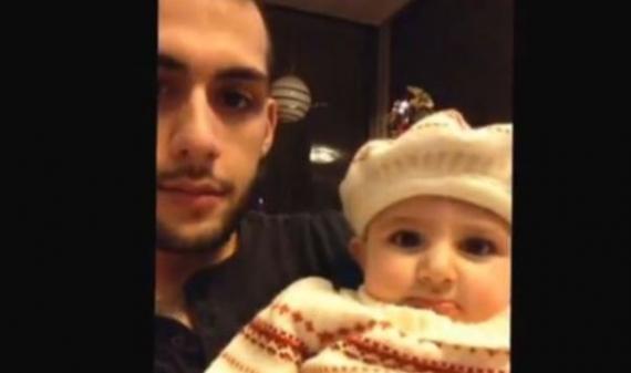 الطفلة الأردنية ابنة يزن سلمان الاكثر مشاهدة في امريكا شاهد الفيديو