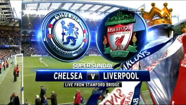 Chelsea vs Liverpool in premier league 29/12/2013 Date and channels broadcast