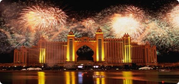 Youtube dubai and burj khalifa fireworks show 2014