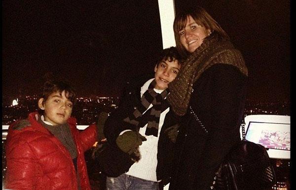 صور ادم ومالك اولاد الفنانة هنا شيحة , صور هنا شيحة مع اولادها