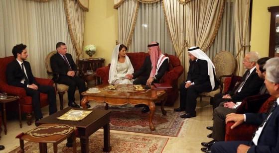 صورة الملك عبدالله قران الامير