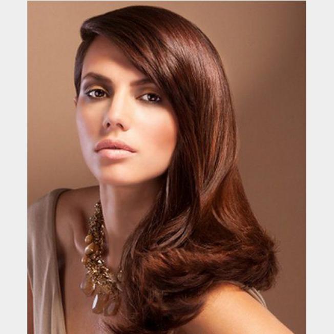 سيدتي أجمل تدرجات الشعر البني الفاتح ,, بالصور