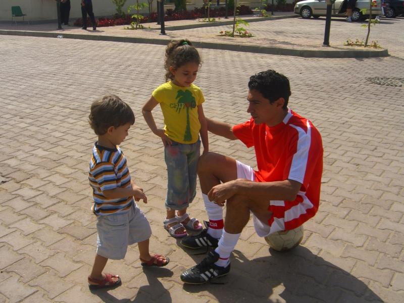 اولاد اللاعب محمد بركات محمد
