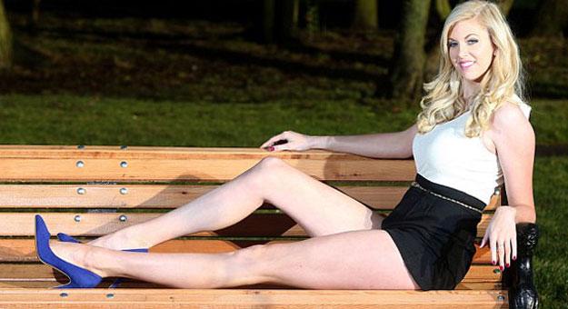 صور عارضة الازياء البريطانية ألكسندرا روبروتسون 2014 , صور ألكسندرا روبروتسون صاحب اطول رجلين فى العالم