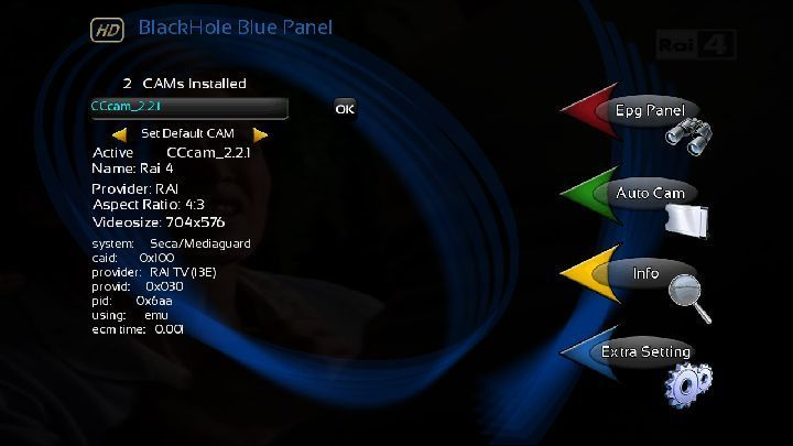 OpenBlackHole 1.4 image for DM800HD
