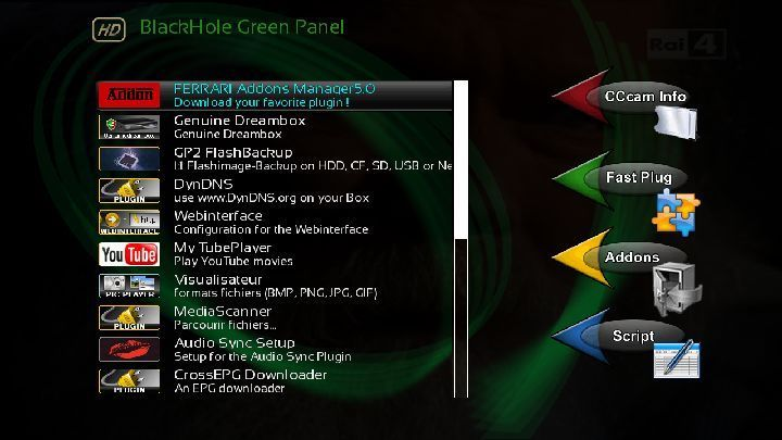 OpenBlackHole 1.4 image for DM800se