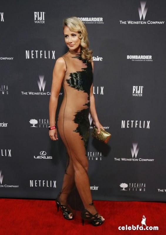 ��� ������� ����� �� ��� ����� ���� 2014 , ��� ����� ������� �����  Victoria Hervey �� ��� Golden Globe 2014