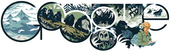 ���� ����� ����� ����� ���� ���� �� 82 , Dian Fossey's 82nd Birthday