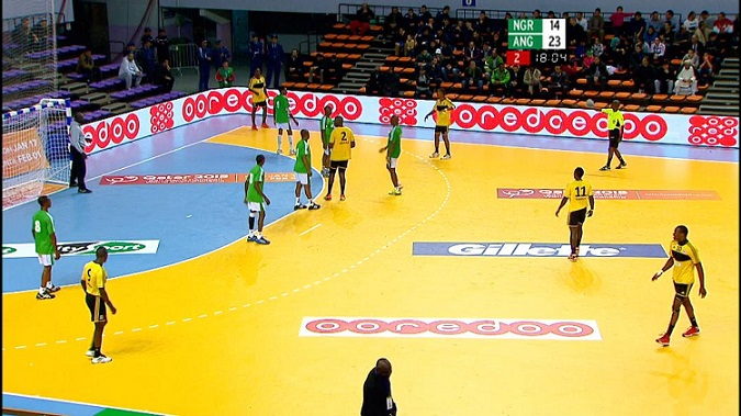 ���� ��� ����� ������� ���� ���� 2014 ������  Nigeria VS Angola
