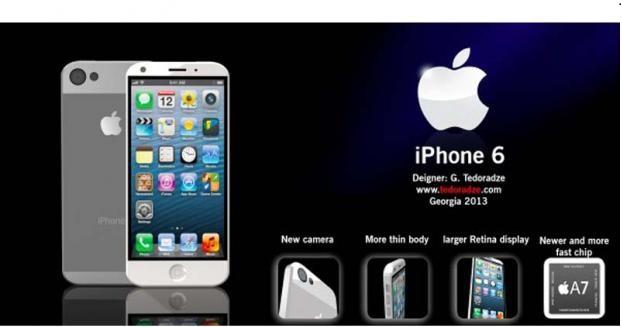 تسريبات جديدة عن مواصفات آيفون 6 iphone