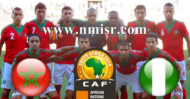 Morocco v Nigeria 25-1-2014 Orange African Nations Championship 2014